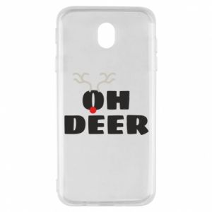 Samsung J7 2017 Case Oh deer