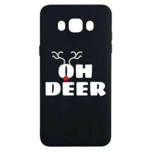 Samsung J7 2016 Case Oh deer
