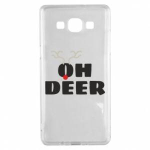 Samsung A5 2015 Case Oh deer