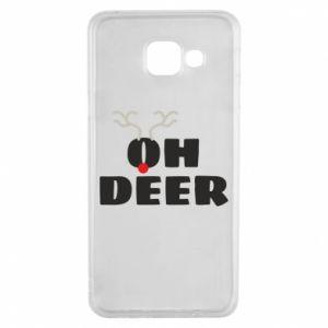 Samsung A3 2016 Case Oh deer