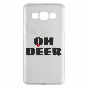 Samsung A3 2015 Case Oh deer