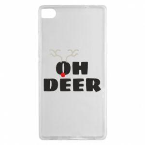 Huawei P8 Case Oh deer