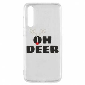 Huawei P20 Pro Case Oh deer