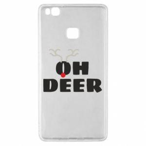 Huawei P9 Lite Case Oh deer
