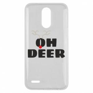 Lg K10 2017 Case Oh deer