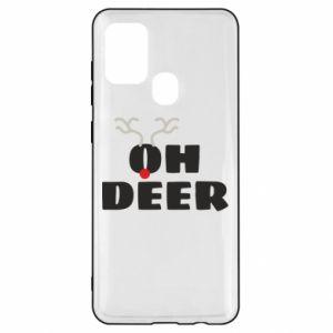 Samsung A21s Case Oh deer