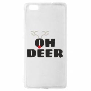 Huawei P8 Lite Case Oh deer