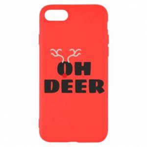 iPhone SE 2020 Case Oh deer