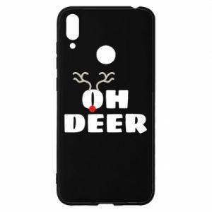 Etui na Huawei Y7 2019 Oh deer
