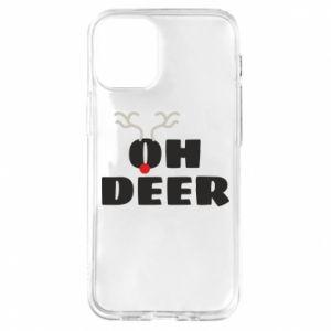 Etui na iPhone 12 Mini Oh deer