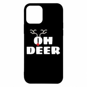 Etui na iPhone 12/12 Pro Oh deer
