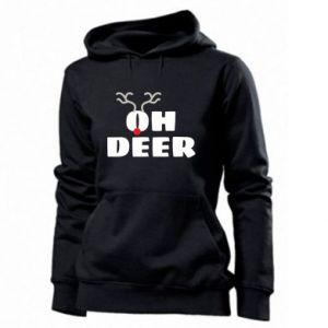 Women's hoodies Oh deer