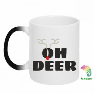 Kubek-magiczny Oh deer