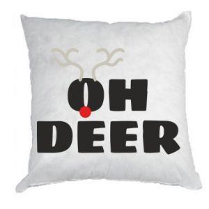 Pillow Oh deer