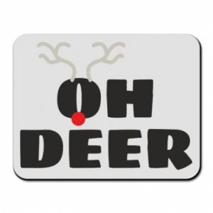 Mouse pad Oh deer