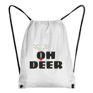 Backpack-bag Oh deer