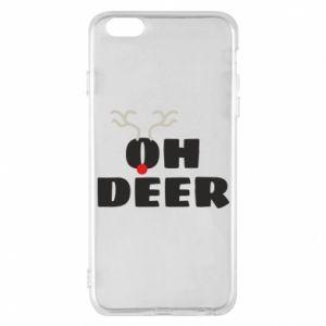 iPhone 6 Plus/6S Plus Case Oh deer