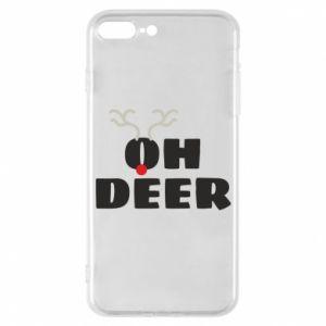 iPhone 7 Plus case Oh deer