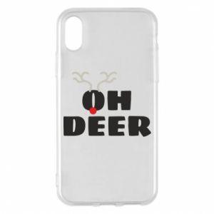 iPhone X/Xs Case Oh deer