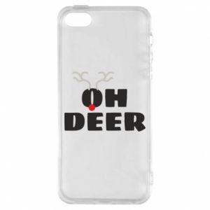 iPhone 5/5S/SE Case Oh deer