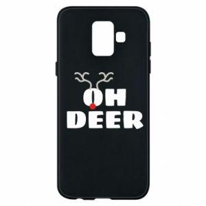 Samsung A6 2018 Case Oh deer