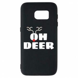 Samsung S7 Case Oh deer