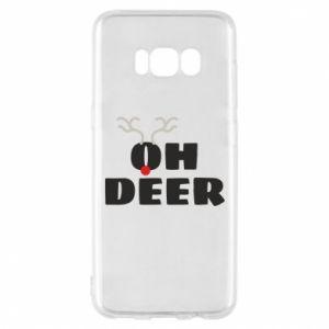 Samsung S8 Case Oh deer