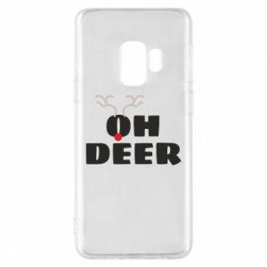 Samsung S9 Case Oh deer