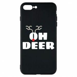 iPhone 8 Plus Case Oh deer