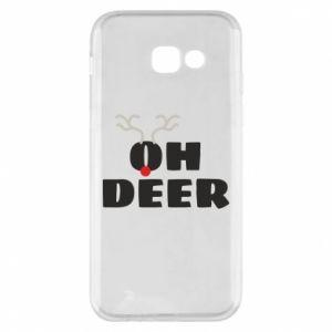 Samsung A5 2017 Case Oh deer