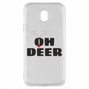 Samsung J3 2017 Case Oh deer