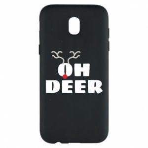 Samsung J5 2017 Case Oh deer