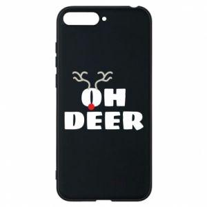 Huawei Y6 2018 Case Oh deer