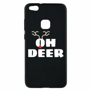 Huawei P10 Lite Case Oh deer