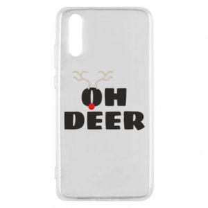 Huawei P20 Case Oh deer