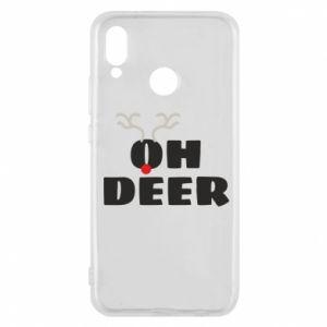 Huawei P20 Lite Case Oh deer