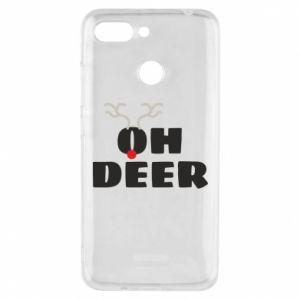 Xiaomi Redmi 6 Case Oh deer