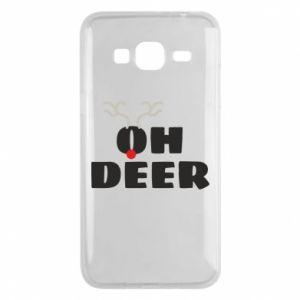 Samsung J3 2016 Case Oh deer