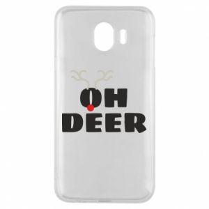 Samsung J4 Case Oh deer