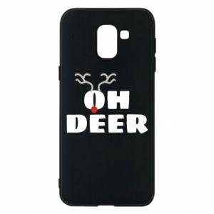 Samsung J6 Case Oh deer