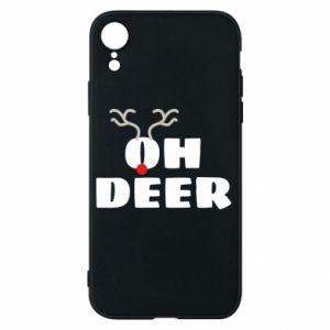 iPhone XR Case Oh deer