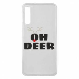 Samsung A7 2018 Case Oh deer