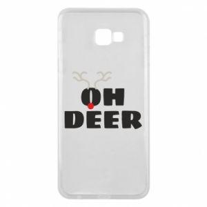Samsung J4 Plus 2018 Case Oh deer