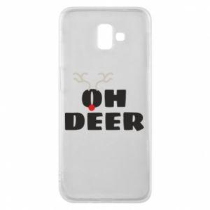 Samsung J6 Plus 2018 Case Oh deer