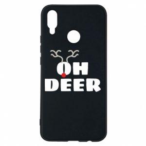 Huawei P Smart Plus Case Oh deer