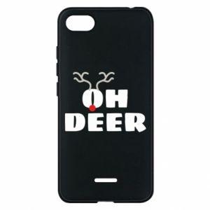 Xiaomi Redmi 6A Case Oh deer