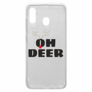 Samsung A20 Case Oh deer
