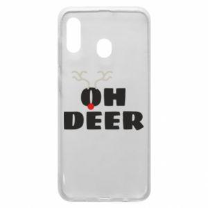 Samsung A30 Case Oh deer