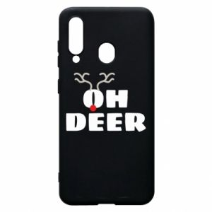 Samsung A60 Case Oh deer