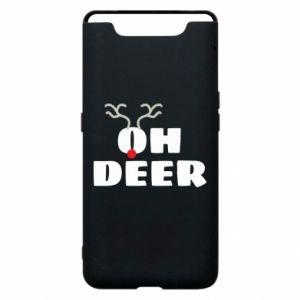 Samsung A80 Case Oh deer